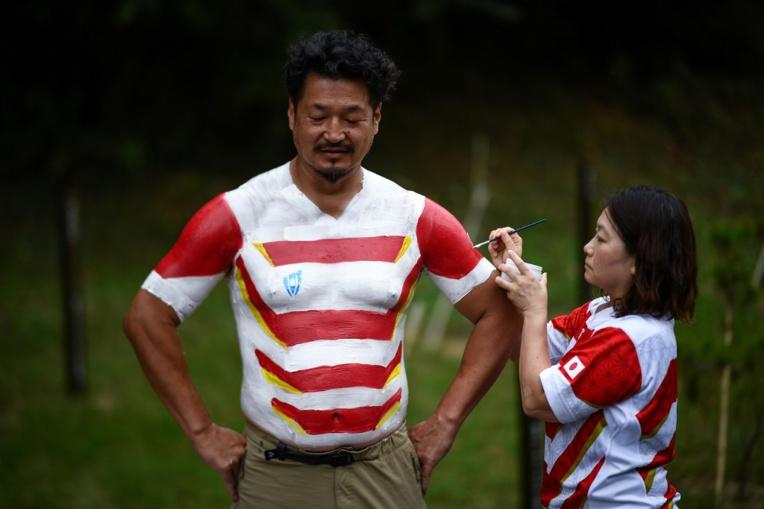 Mondial : Hiroshi Moriyama, les couleurs du rugby sur la peau