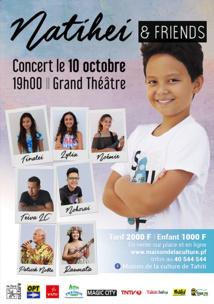 """Natihei, """"la petite star"""" au Grand théâtre"""