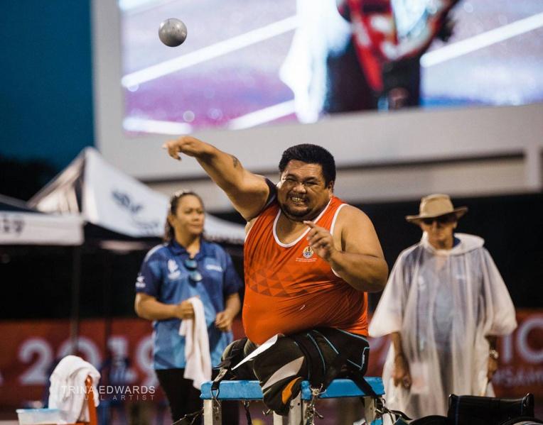 Christian Chee Ayee obtient finalement la seule médaille tahitienne en athlétisme handisport