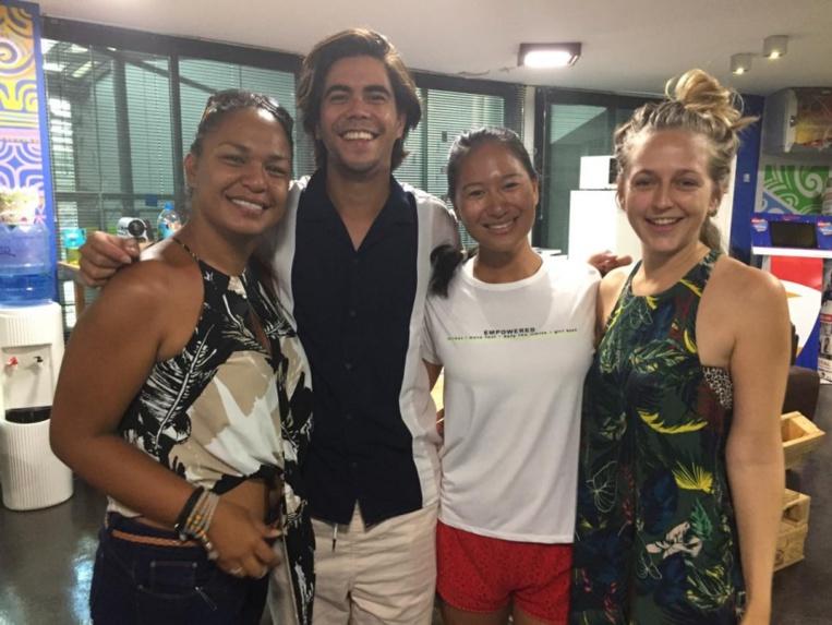 """Pour la première édition du Coopérathon France, l'équipe tahitienne Invasive Solutions, composée de Mélodie Tufaunui Pohemai, Loanah Wong et Lou Tamaehu, avait décroché le prix """"Environnement"""". Une nouvelle équipe fera-t-elle aussi bien cette année?"""