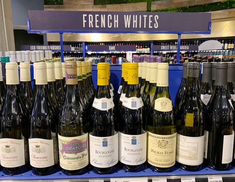 Côté français, ce sont d'abord les vins qui sont visés d'un surcroît de tarifs de 25%, de même que les vins espagnols et allemands.