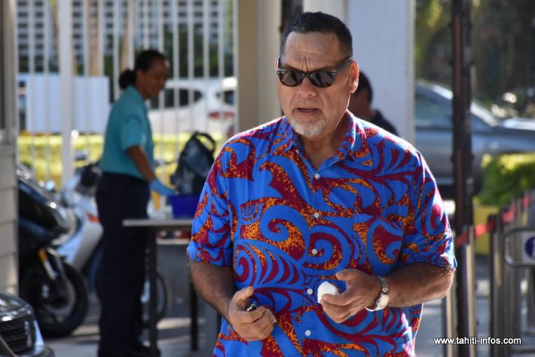 Cyril Tetuanui encore sauvé de l'inéligibilité