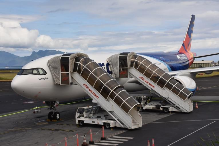 Le Luengöni a effectué son premier vol commercial entre Nouméa et Faa'a dans la nuit de jeudi à vendredi.