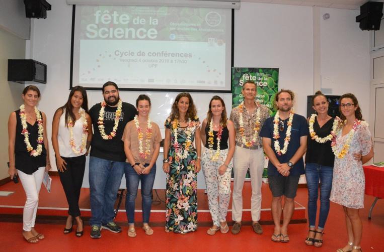 Sept scientifiques ont ouvert la Fête de la Science avec une série de conférence à l'UPF vendredi dernier.