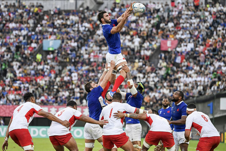 Le XV de France prend le quart face aux Tonga