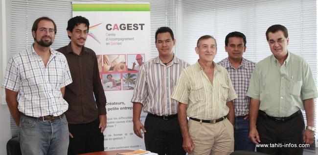 Les fondateurs et partenaires du CAGEST se sont réunis hier pour discuter de l'évolution l'association