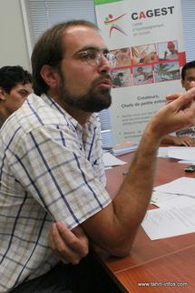 Olivier Poté, le directeur régional de l'Association pour le Droit à l'Initiative Economique (ADIE)