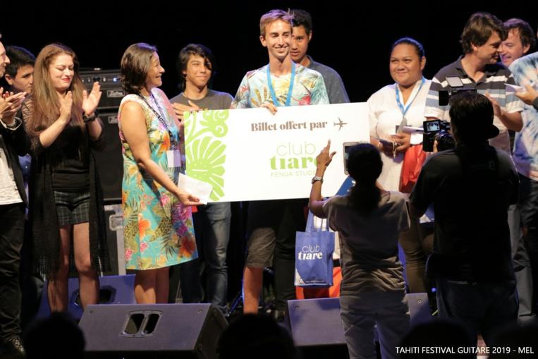 Julian Piro remporte le Tahiti Festival Guitare 2019