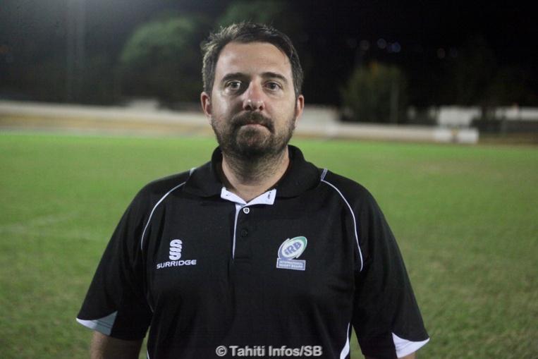 Teiki Dubois, manager de Pirae