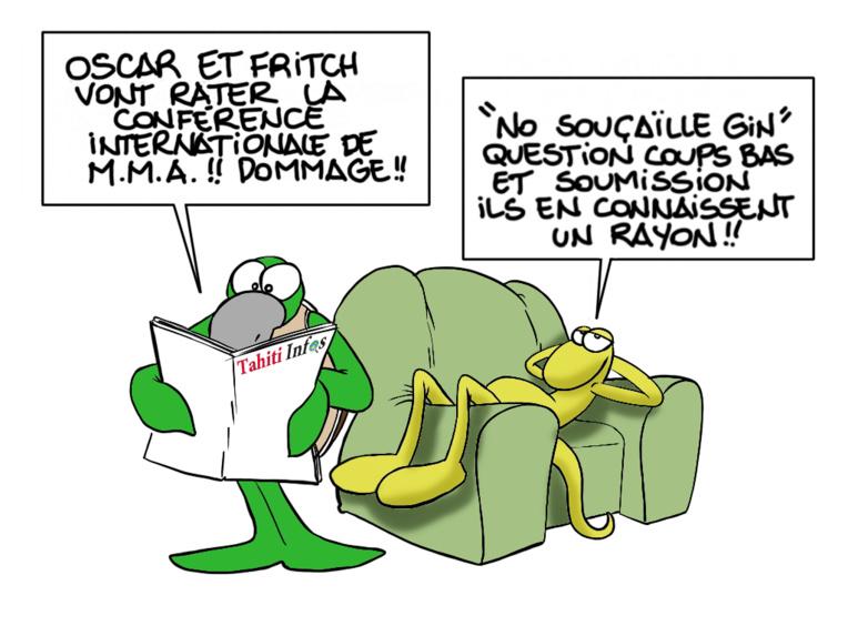 """ONU vs MMA"", par Munoz"