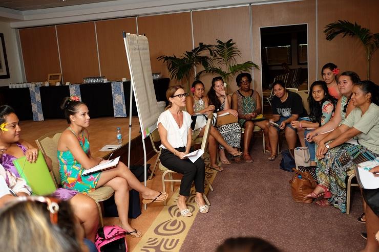 Des femmes engagées pour le changement au Tahiti Women's Forum