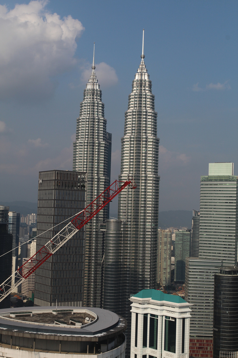 Les célèbres Petronas Towers, les deux tours jumelles les plus hautes du monde, que l'on peut visiter bien entendu.