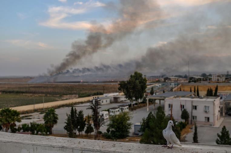 Syrie: résistance des Kurdes face à l'offensive turque, exode des civils