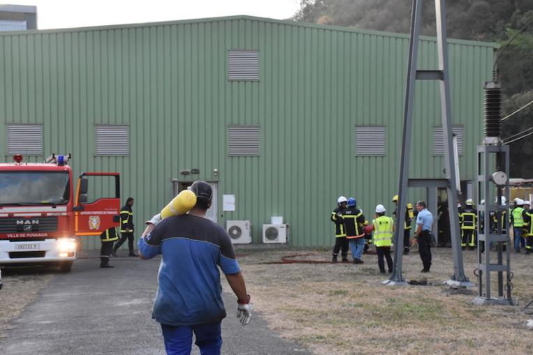 L'incendie au poste TEP encore inexpliqué