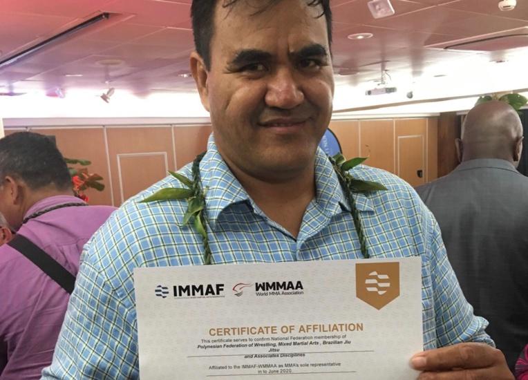 La FPLAJDA est désormais affiliée à l'IMMAF, la fédération internationale amateur