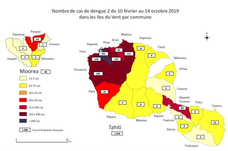 382 nouveaux cas de dengue 2 en deux semaines