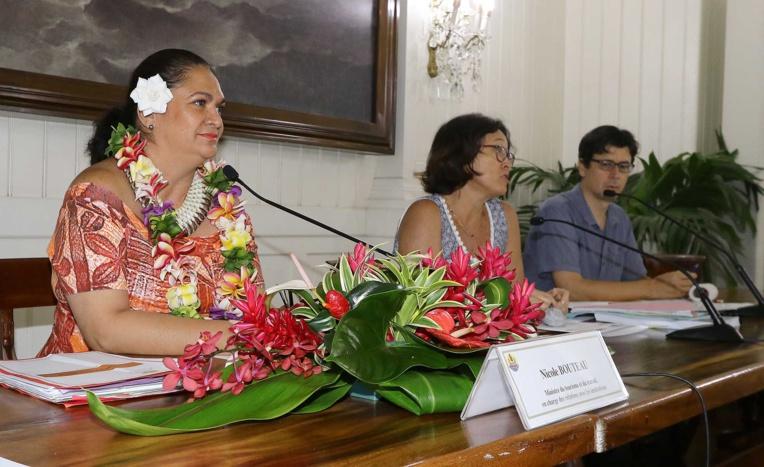 La ministre du Travail, Nicole Bouteau, avait défendu son texte, notamment après l'avis mitigé du Cesec en avril dernier.