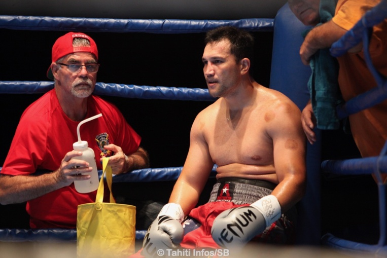 Cédric Bellais est un des rares boxeurs professionnels tahitiens