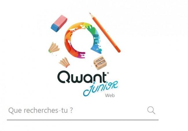 Le moteur de recherche français Qwant rénove sa déclinaison pour les enfants