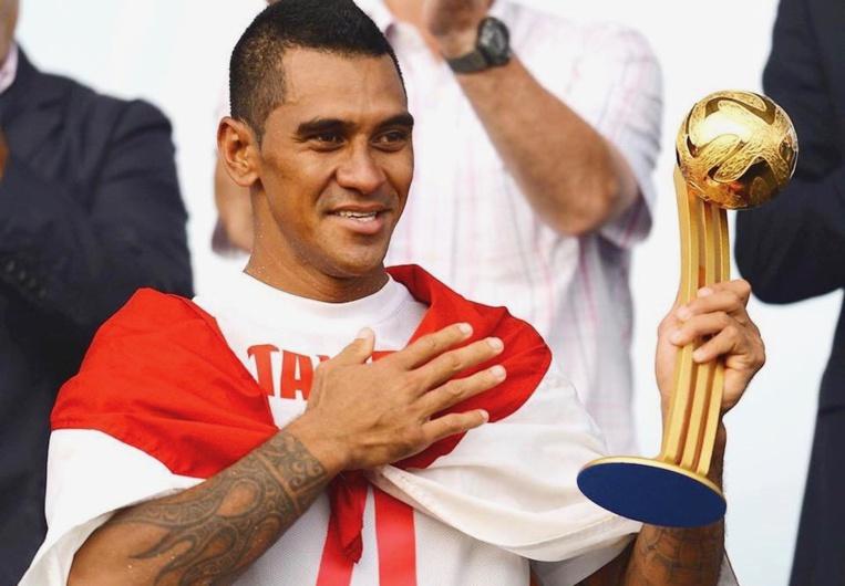 Heimanu Taiarui avait reçu le Ballon d'or lors de la Coupe du monde de beach soccer de 2015