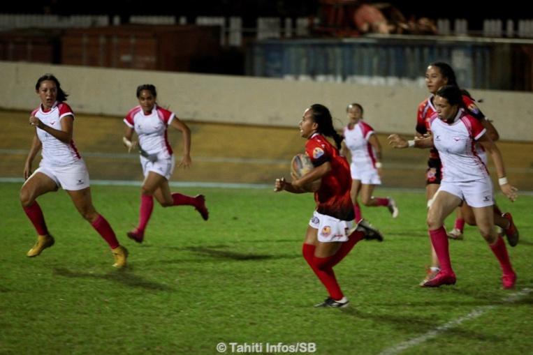 Les Hine Tahiti ont marqué de nombreux essais