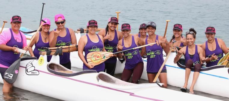 Tahitian Paddle est venu en force