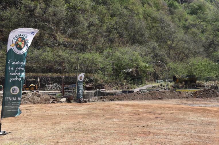 Le site où sera implanté la dechetterie.