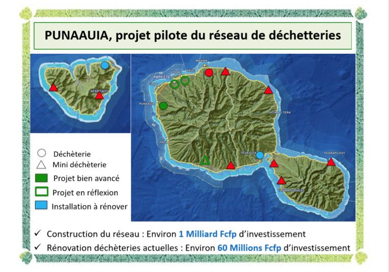Une première déchetterie à Tahiti en 2022