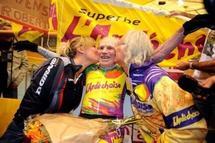 """Cyclisme: Robert Marchand établit le record du monde de l'heure catégorie """"plus de 100 ans"""""""