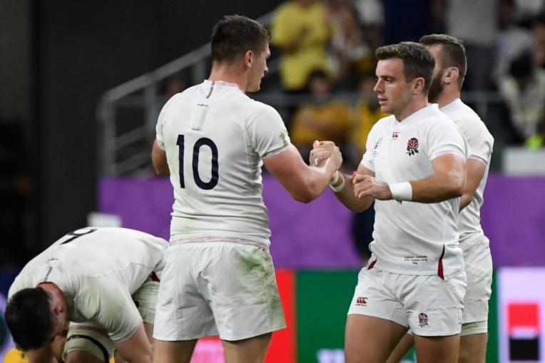 Mondial de rugby: l'Angleterre associe de nouveau Ford et Farrell contre les All Blacks