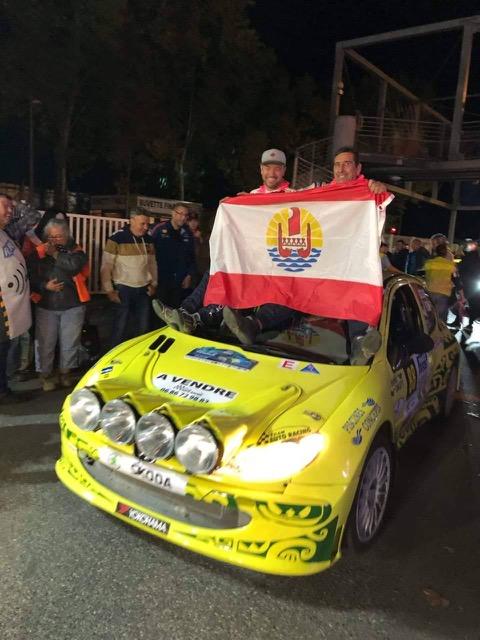 José Laibe a participer à al Coupe de France des Rallyes