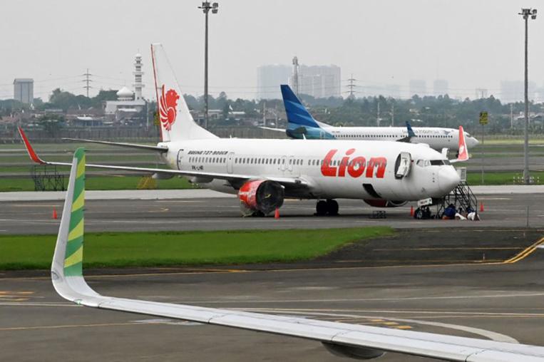 Le crash du Boeing 737 MAX de Lion Air en partie lié à un défaut de conception, selon l'enquête indonésienne
