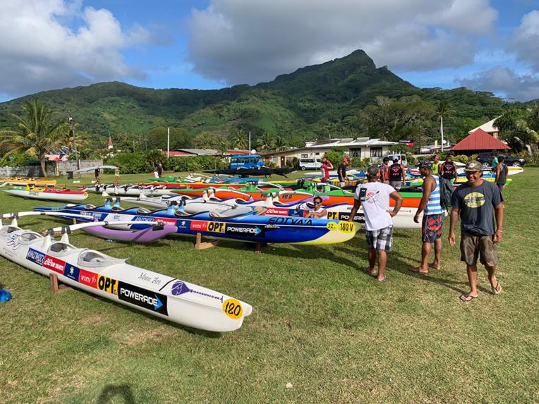 La Hawaiki Nui débarque doucement à Huahine