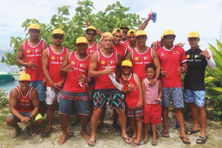 Shell et ses outsiders à la Hawaiki Nui Va'a