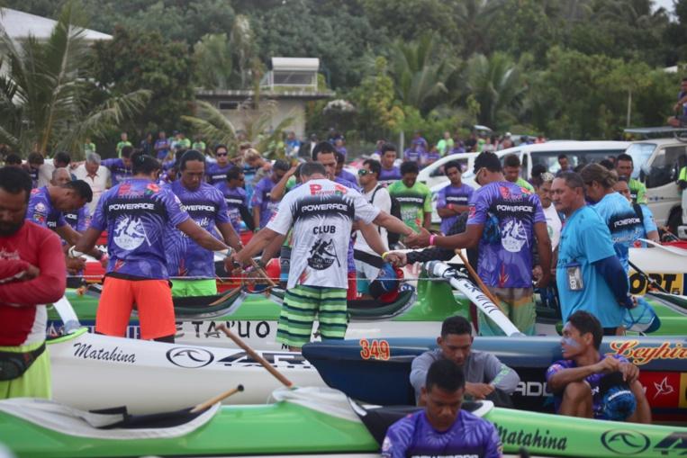 Hawaiki Nui Va'a : les résultats complets de la 1ère étape