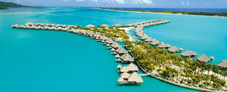Le St Régis peut s'agrandir sur le lagon de Bora Bora