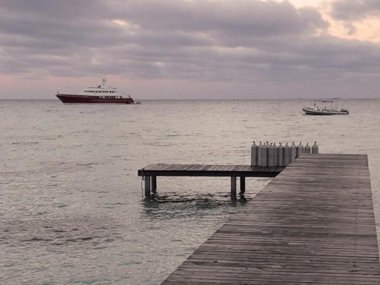 O2 Fakarava bataille pour son nouveau ponton
