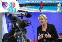 """Marine Le Pen promet de """"se battre"""" pour la Nouvelle-Calédonie française"""