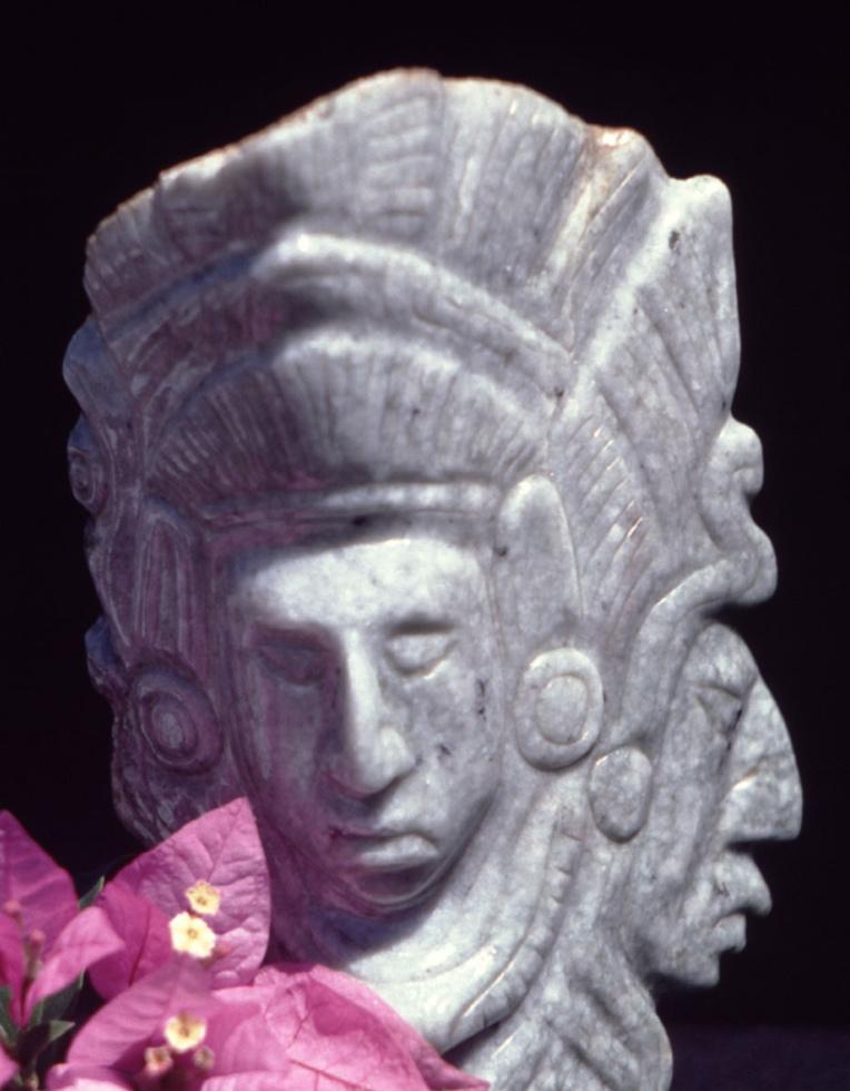 Le jade du Guatemala était souvent réservé à la fabrication de représentations de divinités.