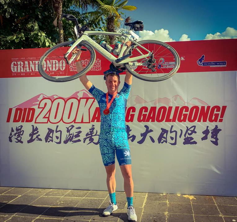 Benoit Rivals a terminé l'étape à la 138ème place