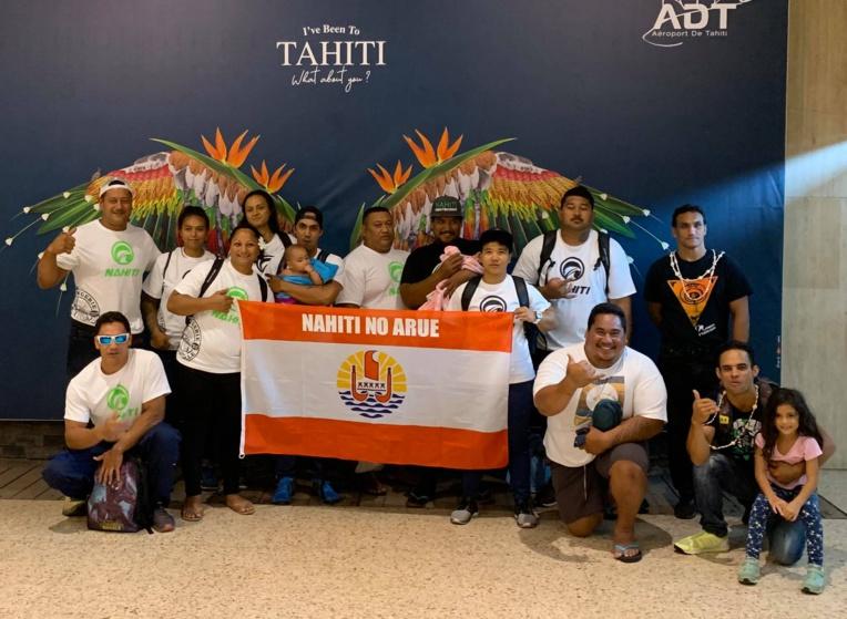 Nos champions des sports traditionnels sont partis mardi pour Hawai'i