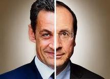 Hollande et Sarkozy, rivaux à la présidentielle et... cousins