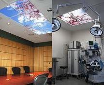 """Un """"ciel virtuel"""" pour éclairer le bureau du futur"""