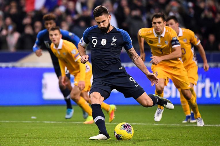 La France qualifiée pour l'Euro-2020, comme la Turquie