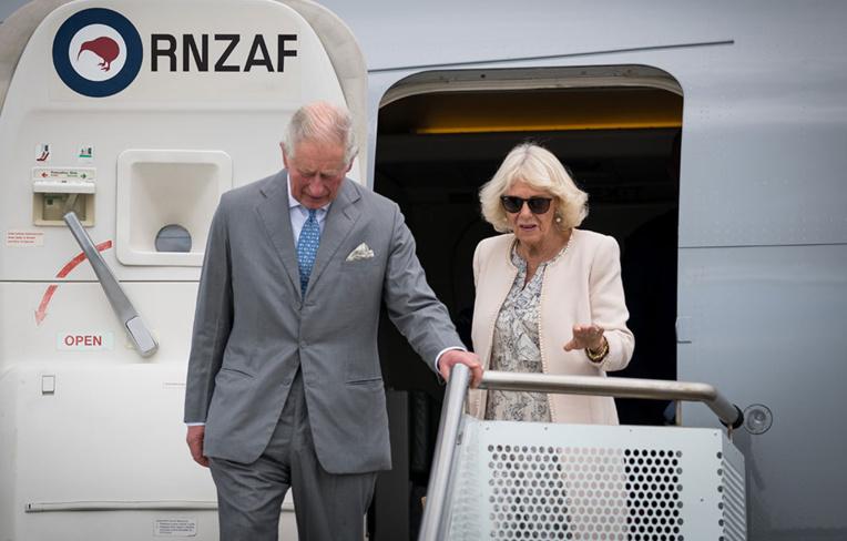 Le prince Charles et Camilla pour six jours en Nouvelle-Zélande