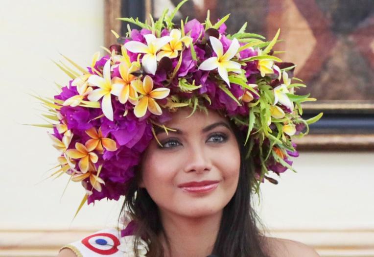 Notre belle Polynésienne pourrait représenter la France et le fenua à l'international.