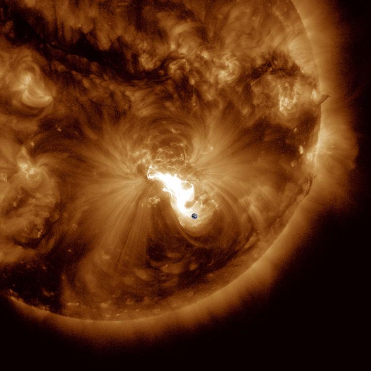 Les compagnies aériennes désormais prévenues des risques d'éruptions solaires