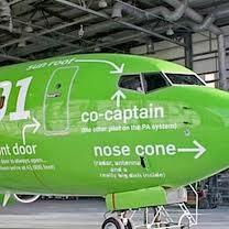 Kulula, la compagnie aux avions verts qui ne se prend pas au sérieux