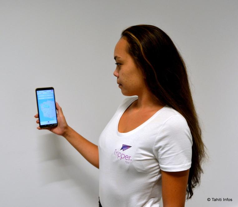 Timeri Jourdain présente Tripper App, un concurrent polynésien à Uber.