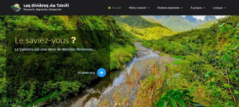 Le site est en ligne sur rivieresdetahiti.com. Il aura également bientôt une page Facebook et un compte Instagram.